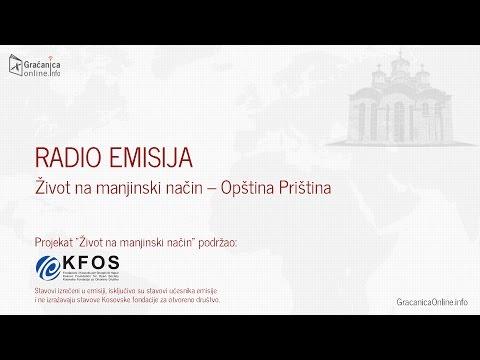 Radio Emisija Život na manjinski način - Opština Priština