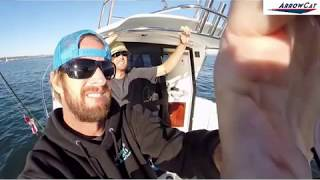ArrowCat Power Catamaran In The Waters Of California