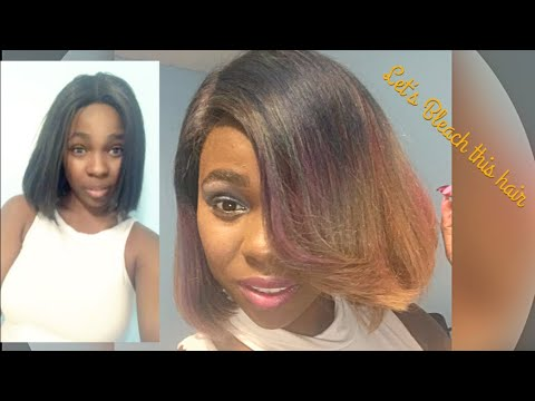 How to:  Bleach and color hair 💇🏾‍♀️💆🏽‍♀️🙍🏼‍♀️💇🏻‍♀️
