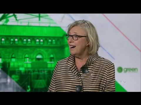 Green Party Leader Elizabeth May shares vision of greener Canada