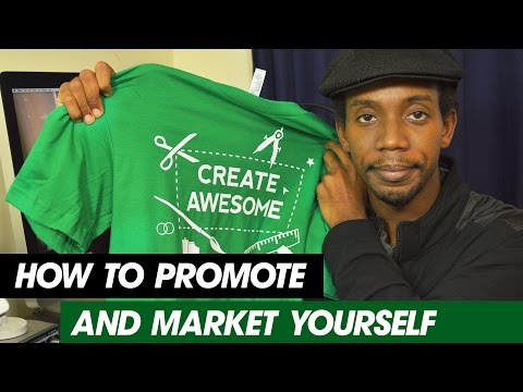 How to Promote and Market Yourself as a Graphic Designer