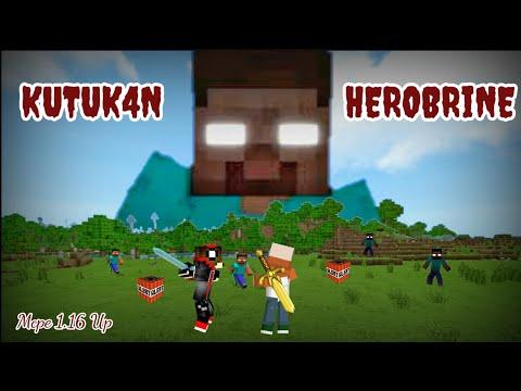 Kutuk4n Herobrine Bangkit Di Minecraft    Addon Mcpe 1.16 UP