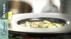 Рибена супа със сом и девесил