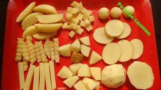 बटाटी  कशी कापायची / Potatoes Chopping for Indian dishes by Kalpana Talpade