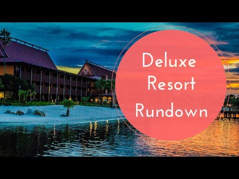 Disney World Deluxe Resorts Overview