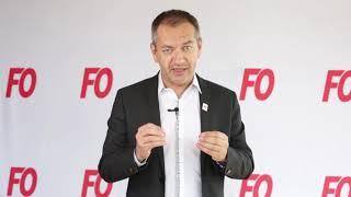 Elections Fonction publique: Pascal Pavageau, Secrétaire général de FO