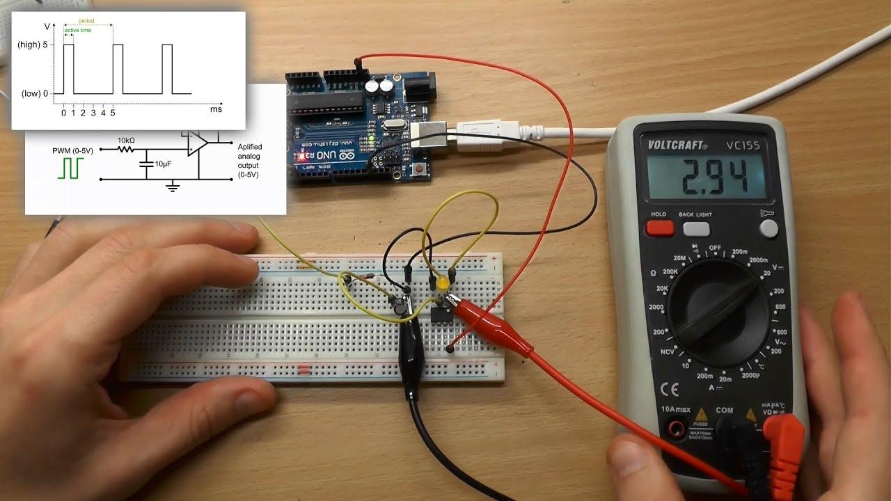 0 10v analog signal wiring gy6 150 diagram digital to converter using pwm funnycat tv