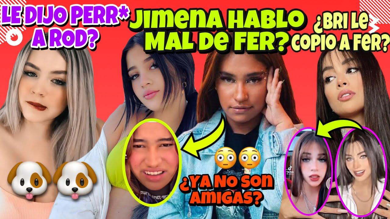 JIMENA HABLO MAL DE IAMFERV YA NO SON AMIGAS?/¿BRIANDA LE COPIA A FER? CAROL LLAMA PERR* A RODRIGO😳