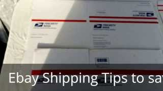 HOW TO MINIMIZE YOUR EBAY SHIPPING COSTS / how to ship clothes on ebay / SAVE MONEY SHIPPING USPS