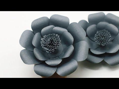 How To Make Simple DIY Wedding Backdrop Flowers - Backdrop Flowers Ideas- DIY Paper Flowers