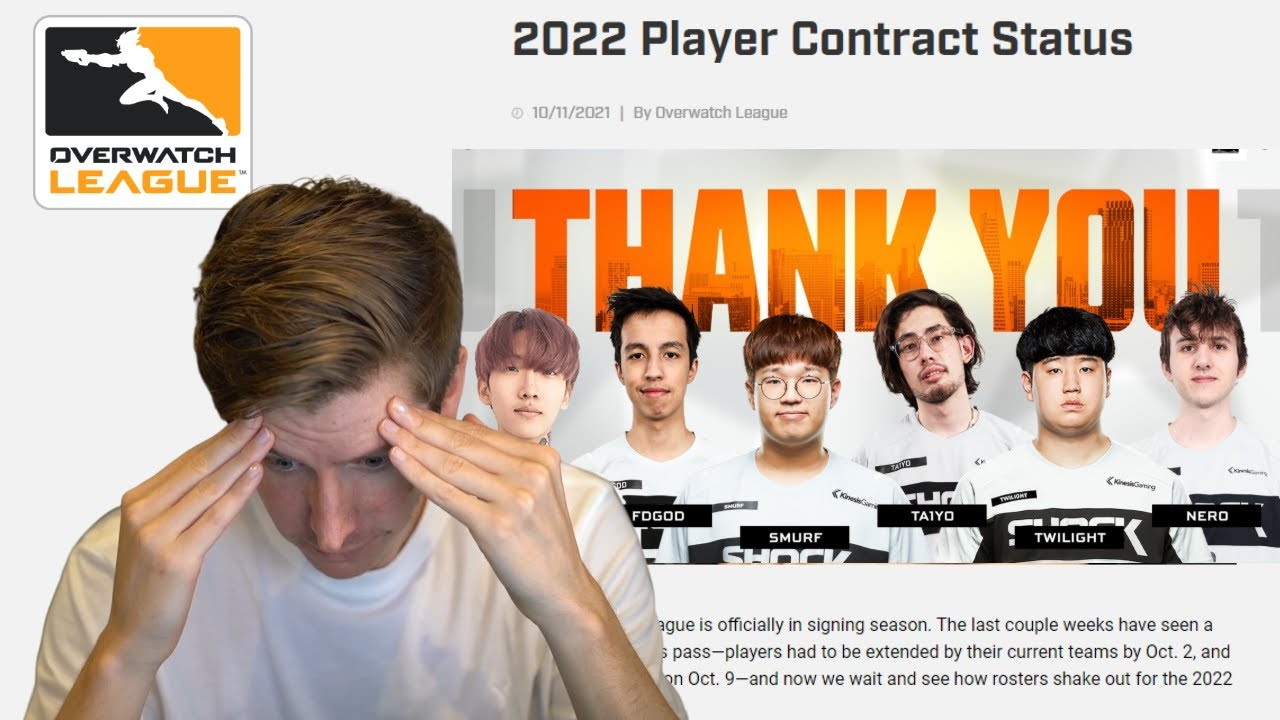 OWL 2022 Off Season Free Agency #1 -- Rosterpocalypse