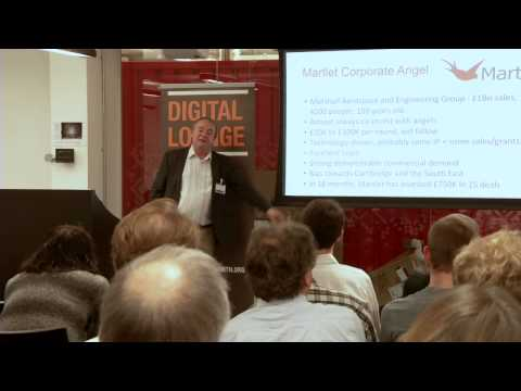 IoT Investor's Perspective - Angels: Peter Cowley, Martlet and Cambridge Angels