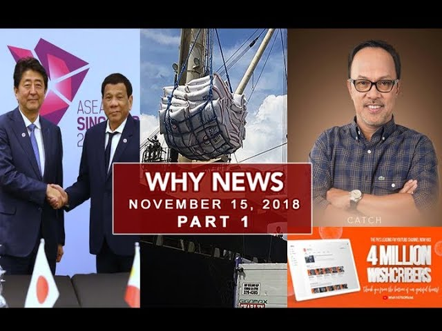 UNTV: Why News (November 15, 2018) PART 1