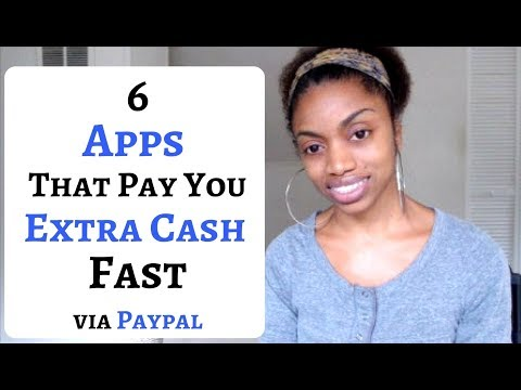 6 Apps That Will Pay You Extra Cash Free And  Fast 2017