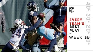 Every Team's Best Play from Week 10 | NFL Highlights