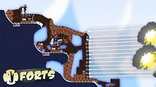 THE BIGGEST FORT POSSIBLE! - Forts Gameplay #2