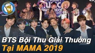 """BTS MAMA 2019: Điều """"KHÔNG TƯỞNG"""" về số lượng giải thưởng kỷ lục của BTS  I Coffee News"""
