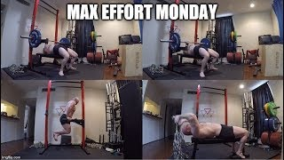 11-4-2019 Orc Mode Training -  Max Effort Bench Press Day
