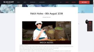 [BDO] Patch Notes: 2s Pots and Increased Damage in PvP - 8.8.18 Patch