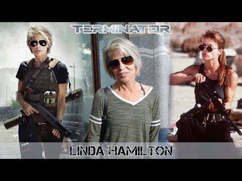 Linda Hamilton in Budapest  Terminator 6