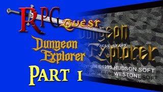 RPG Quest #125: Dungeon Explorer (Sega CD) Part 1