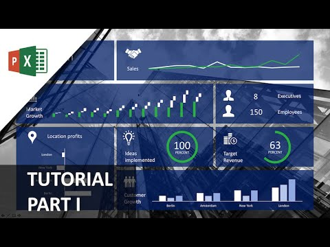 How to Create an Amazing PowerPoint Dashboard With Dynamic Excel Backend [Tutorial Part I]