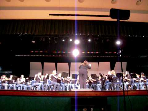 ACMS Eagle band 'Paso Flamenco' 09-10