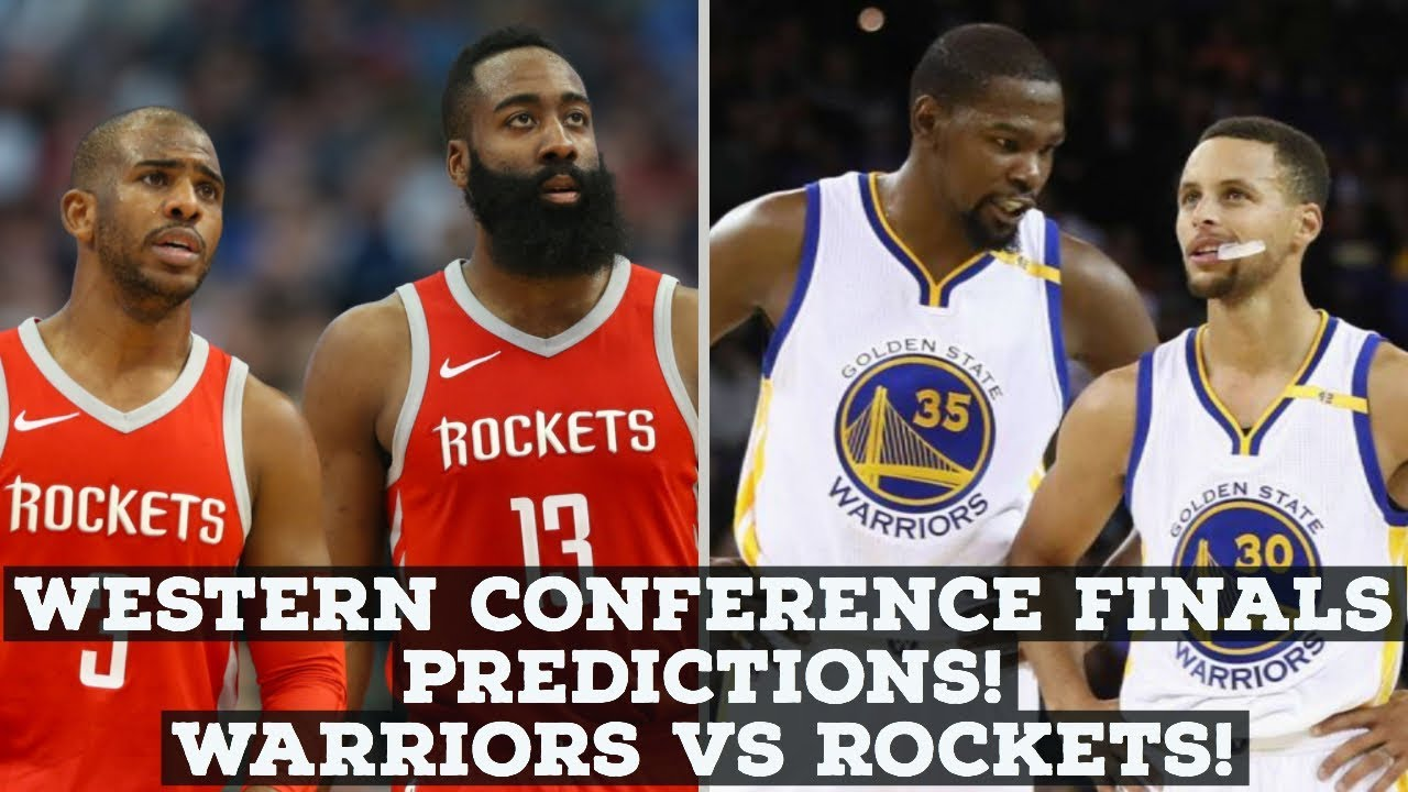 7dc7afc7b3e NBA Playoffs 2018  Western Conference Finals Preview   Predictions! Warriors  vs Rockets!