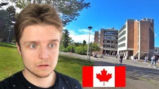 КОРОНАВИРУС в КАНАДЕ и УЖЕ в МОЕМ УНИВЕРСИТЕТЕ | Студенты в Канаде | Канада Британская Колумбия