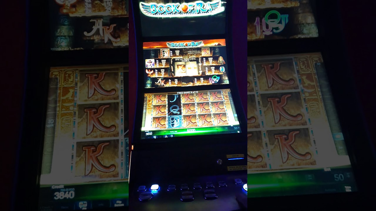 Super Rise of Ra Slot Machine