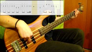 Stevie Wonder - Sir Duke (Bass Only) (Play Along Tabs In Video)