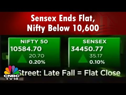 Markets Today | Sensex Ends Flat, Nifty Below 10,600 | Good Day For Midcap IT | CNBC TV18