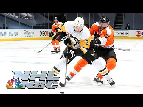 NHL Return-to-Play Exhibition: Penguins vs. Flyers | HIGHLIGHTS | 07/28/2020 | NBC Sports