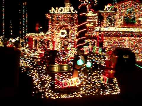 Christmas Lights in Danville, California - YouTube