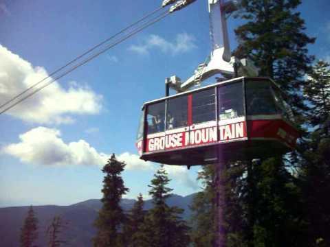 Grouse Mountain Sky Ride gondola, Vancouver, Btitish Columbia, Canada