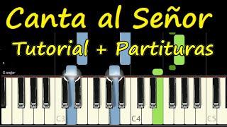 Canta Al Señor - Su Presencia (Shout To The Lord - Hillsong Worship) Piano Tutorial Saxo Partitura