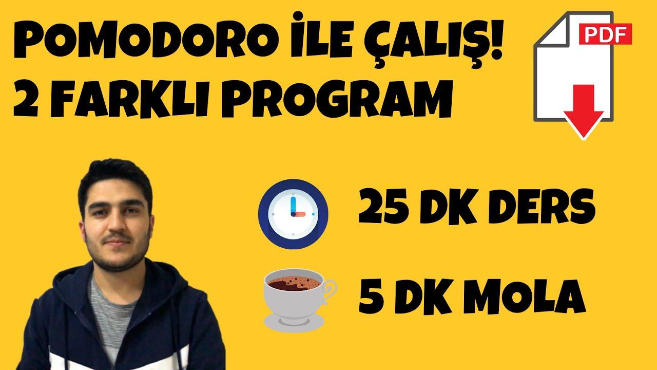 POMODORO İLE DERS ÇALIŞ!  2 FARKLI PROGRAM | LGS 2021