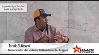 ARAGUA POTENCIA Inspección dique Cari Cari Municipio Mariño