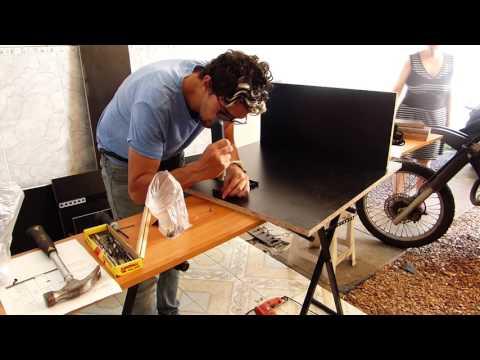Home Studio Desk DIY- escritorio de produccion musical hecho por uno mismo!