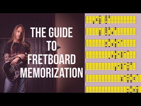 Guitar Fretboard Memorization | How To Memorize The Guitar Fretboard | Steve Stine Guitar Lesson