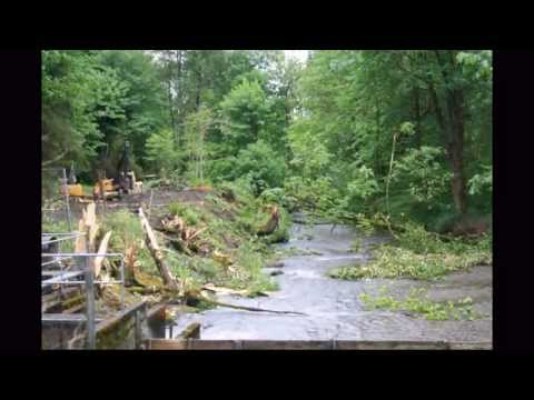 Issaquah Salmon Hatchery Dam Removal: May 2013 Project Time Lapse