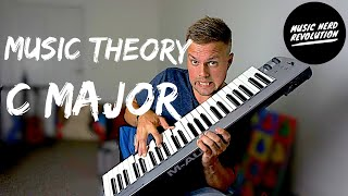 Music THEORY With C MAJOR Scale | In key of C