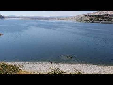 Sarıyar Hasan Polatkan Baraj gölü