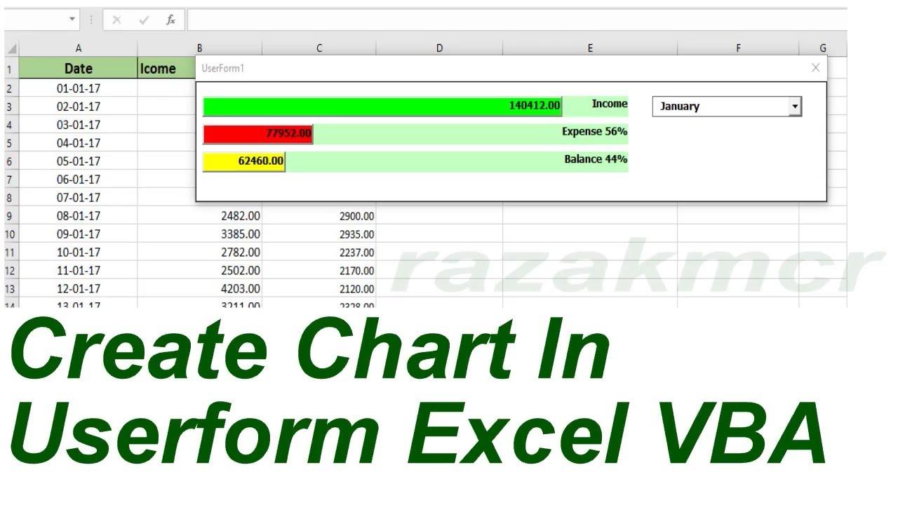 Create chart in vba excel userform vba youtube create chart in vba excel userform vba ccuart Images