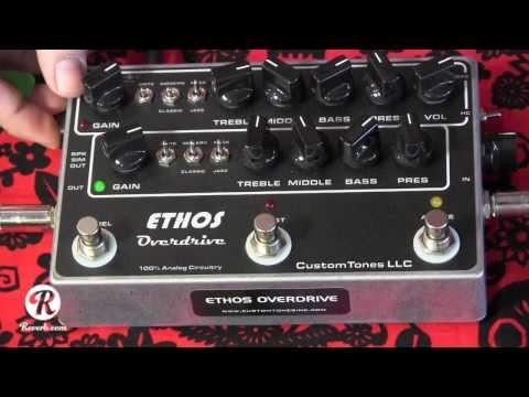 ETHOS OVERDRIVE guitar pedal demo with SG & Fender Blues Jr