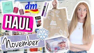 XXXL dm HAUL für November 2018! 😱 Live Review, Bester Adventskalender, Essence Neuheiten! 😍