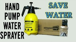 Unboxing Amazon KK-PS2000 || Hand Pump Pressure Spray Bottle || Save Water
