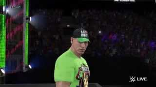 WWE 2K15 PC John Cena Entrance Theme 2015 High Quality Full HD