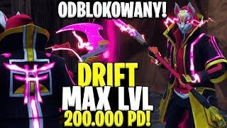 MAX LEVEL DRIFTA - CAŁKOWICIE ODBLKOWANY! ENERGIA!! JEST KOZACKI ! | Fortnite Battle Royale