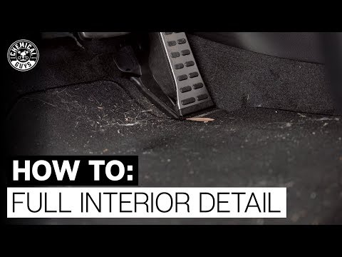 How To Completely Detail Interior! - Chemical Guys